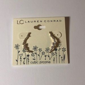 LC Lauren Conrad Constellation Drop Earrings Gold